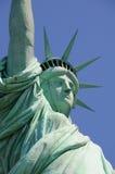 Statue de profil de liberté Photographie stock