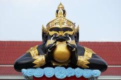 Statue de Rahu dans le temple Thaïlande Photos libres de droits