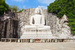 Statue de Rambadagalla Samadhi Bouddha Photos stock
