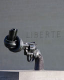 Statue de reproduction de non violence Photo libre de droits