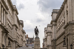 Statue de Robert Clive, 1er Baron Clive, par John Tweed image stock