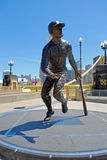 Statue de Roberto Clemente photos stock