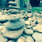 Statue de roche image libre de droits