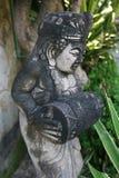 Statue de roche en île de Bali Images stock