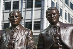 Statue de Rochester de frères de Mayo Clinic Image stock