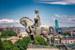 Statue de roi photo stock