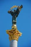 Statue de rue Michael le patron, Kiev Photos libres de droits