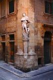 Statue de S Luigi dans la ville de La Valette à Malte Photo stock