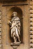 Statue de saint Alessio à Florence Photos libres de droits