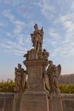 Statue de saint Florian dans Kutna Hora, République Tchèque image libre de droits