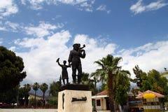 Statue de Saint-Nicolas Images libres de droits