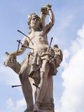 Statue de saint SebastiAn, Cieblice, Pologne Photos libres de droits