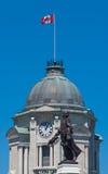 Statue de Samuel De Champlain, Québec Image stock