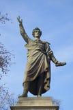 Statue de Sandor Petofi à Budapest Image libre de droits