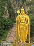 Statue de seigneur Murugan aux cavernes de Batu Image stock