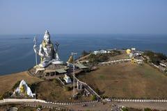 Statue de Shivas l'Inde Murdeshvar dans le jour ensoleillé photo libre de droits