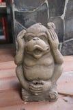 Statue de singe Photo stock