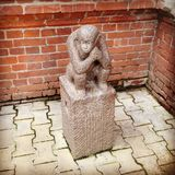 Statue de singe Image libre de droits