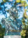 Statue de Sir Arthur Evans chez Knossos, Héraklion, Crète, Grèce Photos libres de droits