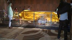 Statue de sommeil Bouddha photographie stock libre de droits