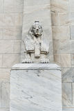 Statue de sphinx de l'Egypte Image stock