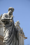 Statue de St Peter à Vatican photos stock