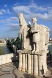 Statue de St Stephan Images stock