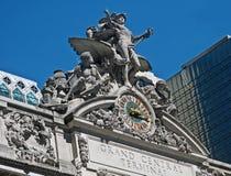 Statue de station de Grand Central Image libre de droits