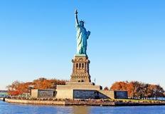 Statue de stationnement de liberté Image libre de droits