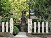 Statue de stationnement de tombeau d'Asakusa Images stock