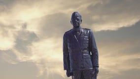Statue de Subash Chandra Bose chez Chennai clips vidéos