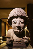 Statue de Suppiluliuma dans le musée d'archéologie de Hatay Photos stock