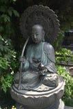 Statue de temple à Tokyo Images libres de droits