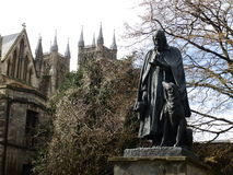 Statue de Tennyson Photographie stock