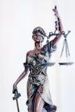 Statue de Themis Photos libres de droits