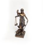 Statue de Themis Photographie stock libre de droits