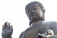 Statue de Tian Tan Bouddha photographie stock
