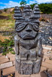Statue de Tiki Tiki Image libre de droits
