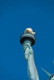 Statue de torche de liberté Photos stock