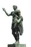 Statue de Trajan, l'empereur romain Image libre de droits