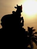 Statue de vache Photo libre de droits
