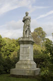 Statue de vicomte Palmerston, Southampton Image stock