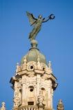 Statue de victoire nike, La Havane Gran Teatro, Cuba Photo stock