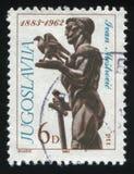 Statue de Victor par Ivan Mestrovic Photos libres de droits