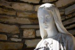 Statue de Vierge Marie Images libres de droits