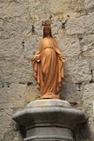Statue de Vierge Marie Photos stock