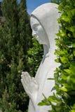 Statue de Vierge Marie comme symbole de l'amour et de la gentillesse Photographie stock libre de droits