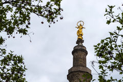 Statue de Vierge Marie comme symbole de l'amour et de la gentillesse Photos stock