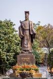 Statue de vieux roi Image stock