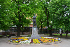 Statue de ville de Kikinda Image libre de droits